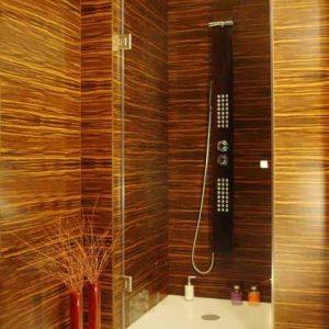 kabina prysznicowa wnękowa na wymiar lewa