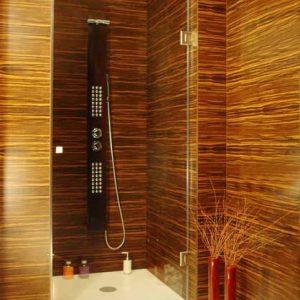 kabina prysznicowa wnękowa na wymiar prawa
